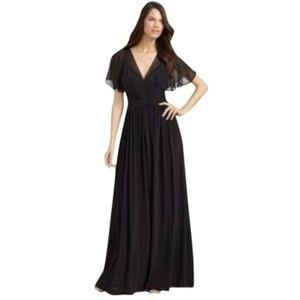 BCBGMaxAzria S Black Liz formal Full Length gown